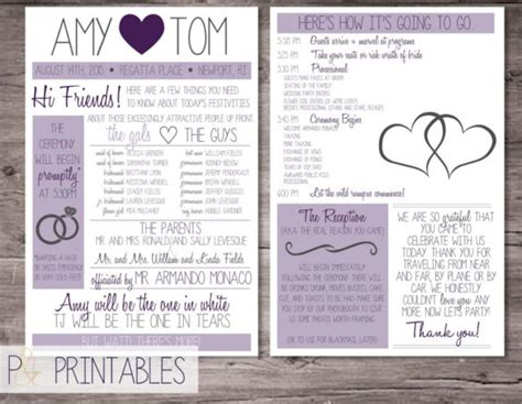 Free Printable Wedding Program Templates Word by Wedding Program Template 64 Free Word Pdf Psd