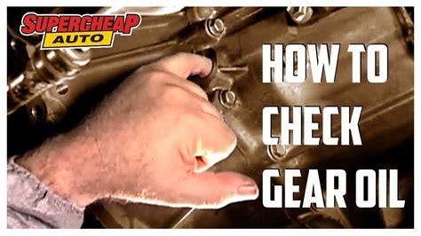 Check Gear Box Oil // Supercheap Auto