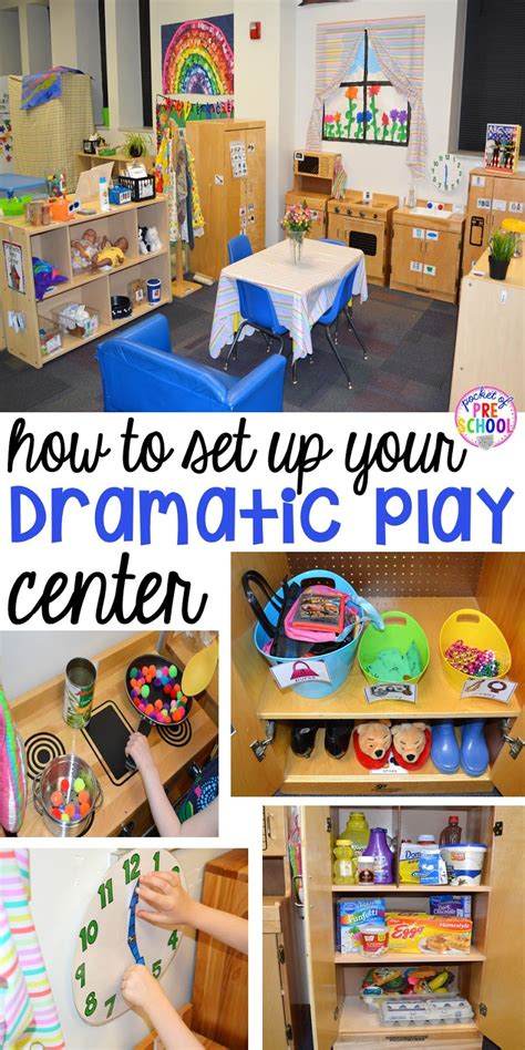 how to set up the dramatic play center in an early 554 | Slide8