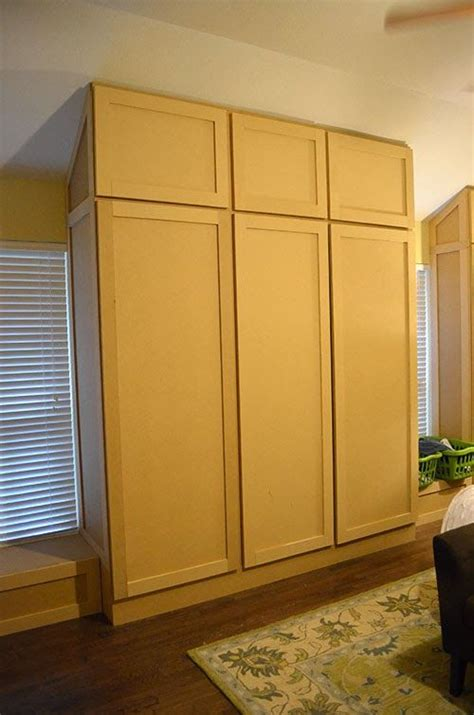 Building Wardrobe Closet by How To Build A Wardrobe Closet From Scratch Woodworking
