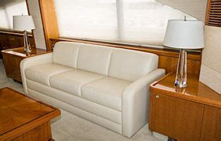 sofas beds glastop marine furniture custom yacht