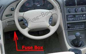2000 Ford Mustang Fuse Box   Mustang Radio Wiring Harness