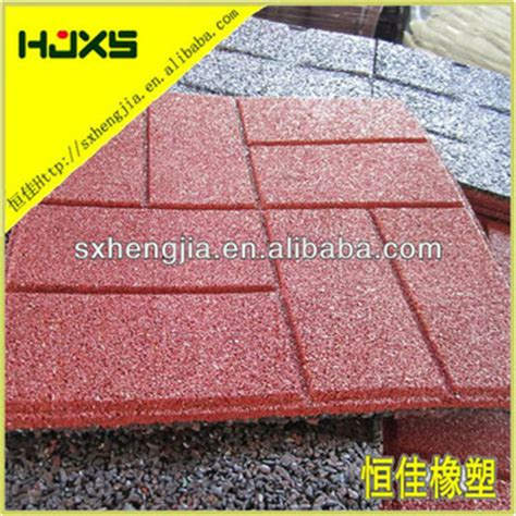 recycled rubber pavers for walkways driveways patios