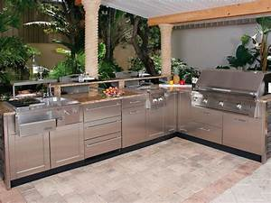 outdoor stainless steel kitchen cabinets derektime With kitchen cabinets lowes with stainless steel outdoor wall art