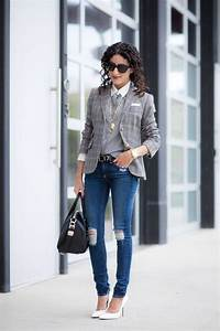Best 25+ Plaid blazer ideas on Pinterest | Checked blazer Check blazer and vestido ochentero ...