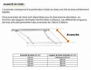 Store Banne 7m : store banne monobloc sur mesure stores ~ Edinachiropracticcenter.com Idées de Décoration