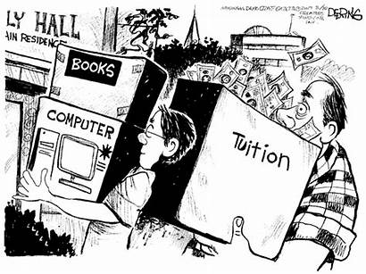 Cartoon Political College Expensive Step Funny