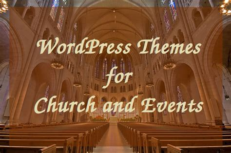 Church Themes Top 10 Themes For Church And Events Theme Vision