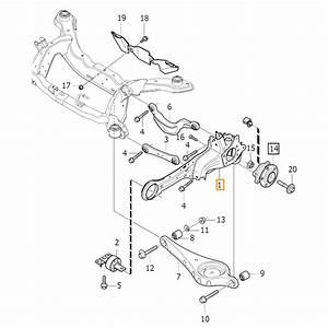 Volvo V60 Rear Suspension Parts