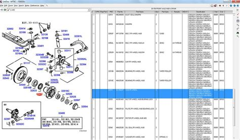 mitsubishi fuso trucks parts manual software epc