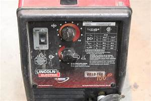 Lincoln Electric Weld Pak 100 Manual  U2013 Ratingbet Info