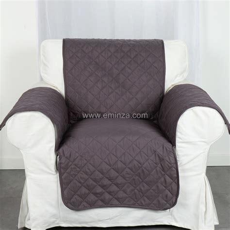 protege fauteuil canape protège fauteuil anthracite housse de fauteuil eminza
