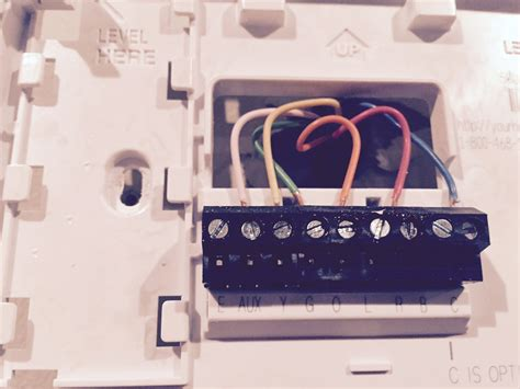 wiring diagram for honeywell thermostat th3210d1004 wiring question on honeywell thermostat fixya