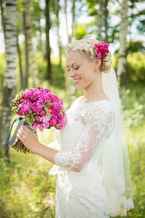 Gaumīgas kāzu frizūras - līgavu greznākā rota