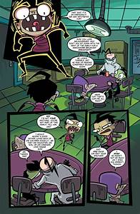 List Of Action Comiclist Previews Invader Zim 37