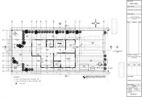 gambar imb rumah tinggal modern minimalis jalan nusa