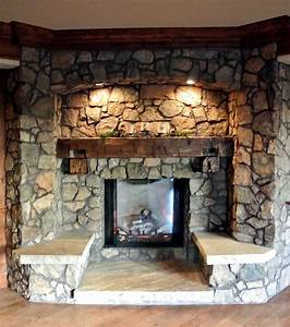 The 25  Best Rustic Fireplaces Ideas On Pinterest