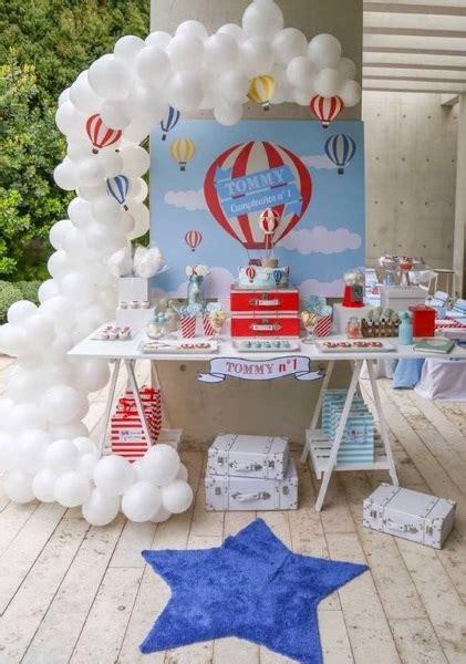 60 Diy Hot Air Balloon Birthday Party Ideas Pink Lover