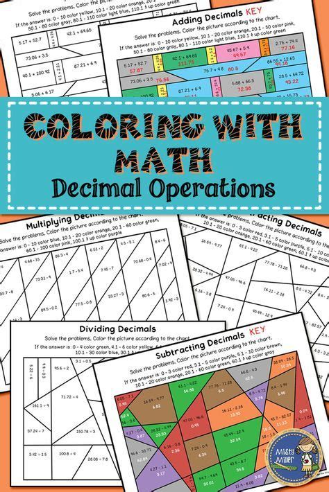 math worksheets  adding subtracting multiplying