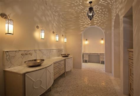 Moroccan Style Bathroom Ideas With Exotic Indulgence