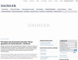 Karriereseiten top 10 der automobilbranche karrierebibelde for Daimler karriere initiativbewerbung