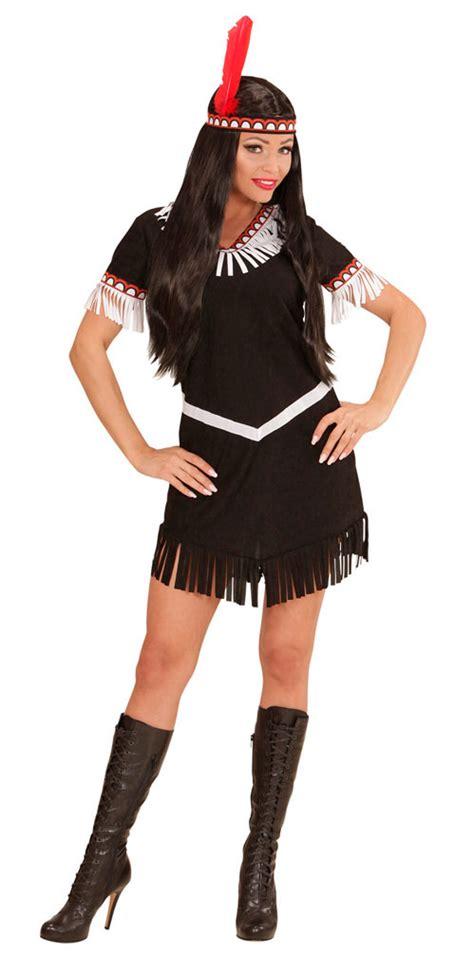 indianer in kost 252 m damen indianerin kost 252 me schwarz wei 223