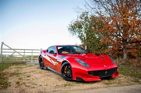 Will be sold to the highest bidders under the terms & conditions of the auction. 2017 Ferrari F12 TDF Sold - International Collectables by Edward Lovett