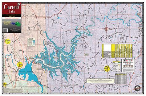 Carters Lake #316 | Kingfisher Maps, Inc.