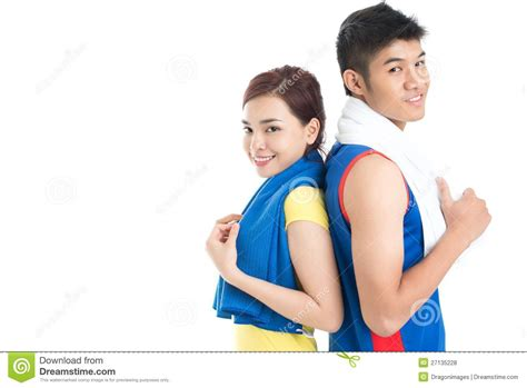 gym friends royalty  stock  image