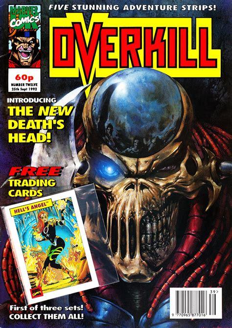 STARLOGGED - GEEK MEDIA AGAIN: 1992: OVERKILL TRADING CARD ...