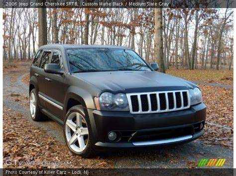 matte grey jeep grand custom matte black 2006 jeep grand cherokee srt8