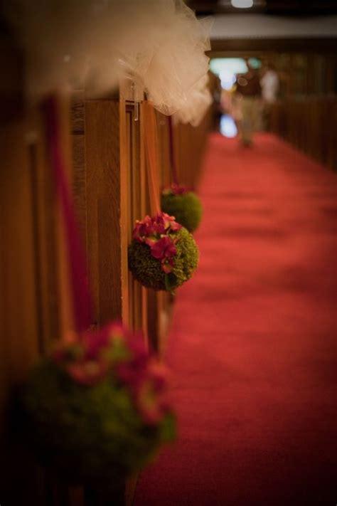 aisle pomanders weddingbee photo gallery