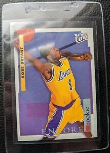 Shop with afterpay on eligible items. 1996 FLEER ULTRA ENCORE #266 KOBE BRYANT ROOKIE CARD RC ...