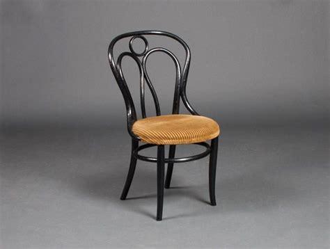 siege thonet chaise bistrot velour