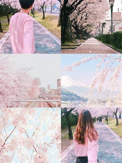 ulzzang couple pink aesthetic korean ulzzang pink cherr