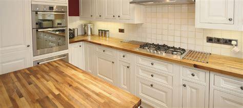 cuisine comptoir bois comptoir de cuisine en bois huilé wraste com