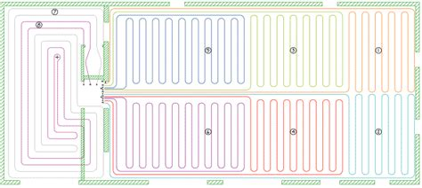 pex radiant floor heating layout index of images hydronic heat