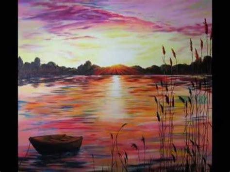 dernier rayon de soleil olivier lemennicier artiste peintre sur toile peinture acrylique