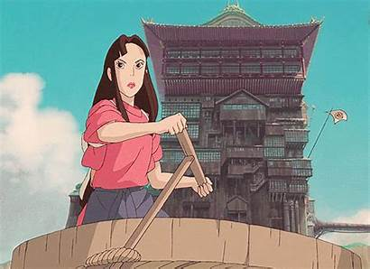 Spirited Away Lin Gifs Ghibli Studio Anime