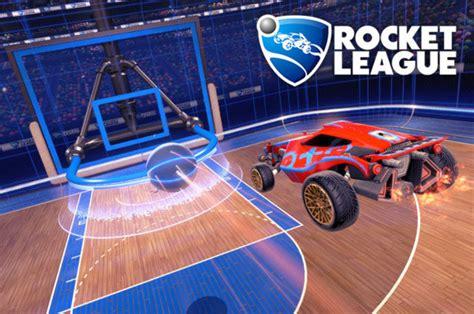 rocket leagues  basketball hoops mode finally