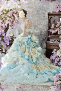 blue wedding gown stella de libero color wedding dresses wedding inspirasi