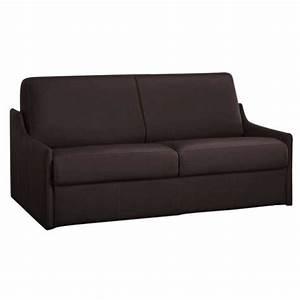 canape lit gain de place en cuir de vachette nouveau With canapé gain de place convertible