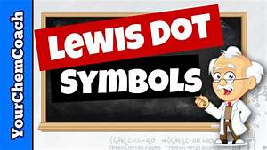 How To Draw Lewis Dot Symbols Or Electron Dot Diagrams