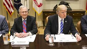 Rising tensions with McConnell undercutting Trump's agenda ...