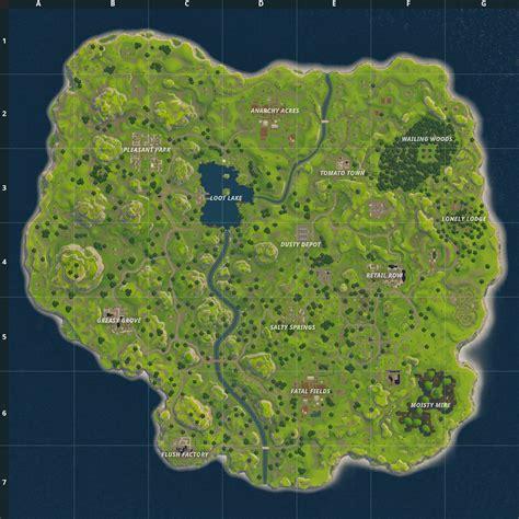 fortnite map  changed  release fortnite