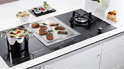 58cm 2 Zone Induction Teppan Yaki plate with DirekTouch