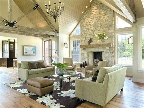 Cathedral Ceiling Fireplace Ideas