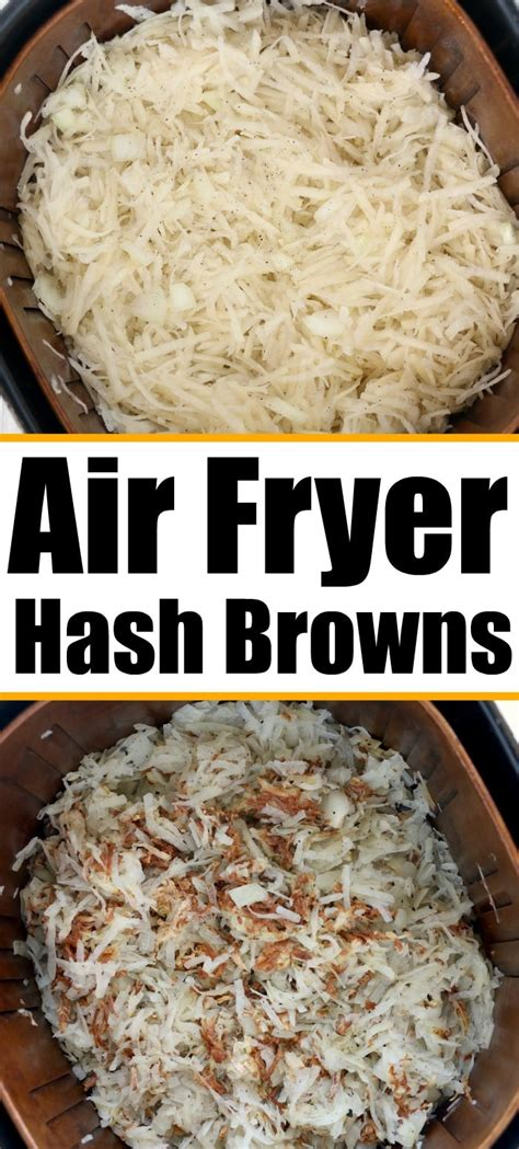 fryer air hash browns homemade hashbrowns cook temeculablogs patties brown ninja potatoes foodi shredded fry recipes cooking they depending thicker