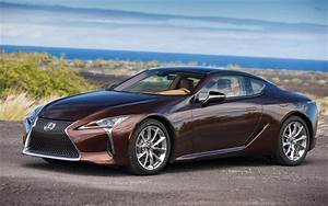 Download wallpapers Lexus LC500, 2018 cars, japanese cars