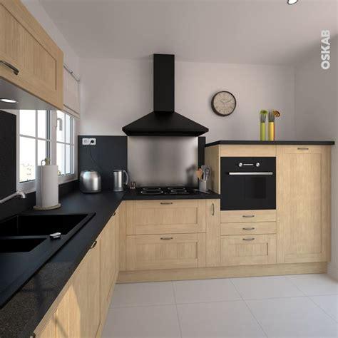 plan de travail cuisine avec evier integre plan de travail cuisine avec evier integre 10 de oskab cuisine bois brut rustique mod232le